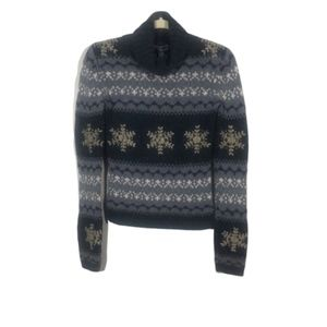 REFERENCE POINT Chunky Knit Cowl Neck sweater, S